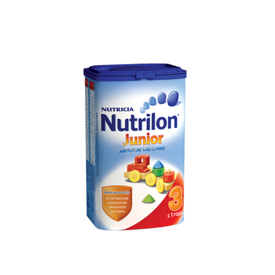 Молочко сухое Junior Nutrilon-3 400гр с года