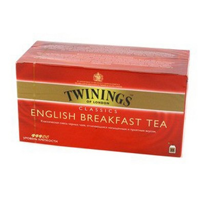 Чай Twinings English Breakfast 25*2