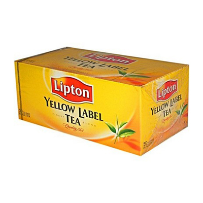 Чай Lipton Yellow Label 25 пакетиков