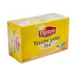 Чай Lipton Yellow Label 50 пакетиков