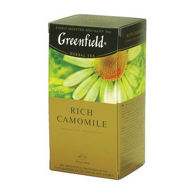 Чай травяной Greenfield Rich Camomile 25пак
