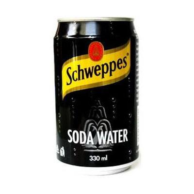 Напиток газированный Schweppes Soda Water 0.2 л Германия...