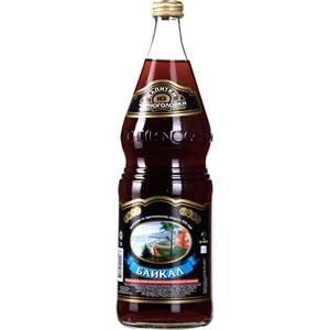 Напиток газированный Байкал 1л Черноголовка стеклянная бутылка.