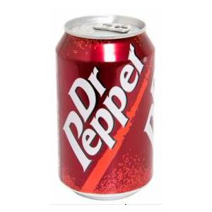 Напиток газированный Dr. Pepper 0.33 л железная банка.