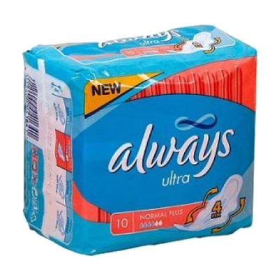 Прокладки Always ultra Normal 10шт
