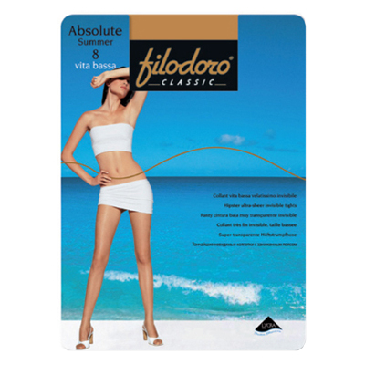 Колготки Filodoro Absolute Summer Vita bassa 8ден
